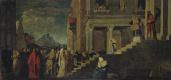 Владислав Чахурский. Введение Марии в храм (по Тициану)