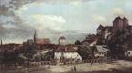 Джованни Антонио Каналь (Каналетто). Вид Пирны с южной стороны