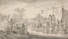 Ян ван Гойен. Деревенская ярмарка