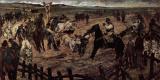 Джованни Фаттори. Клеймение молодых быков в Маремме
