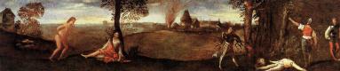 Тициан Вечеллио. Легенда о Полидоресе