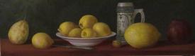 Алексей Викторович Барвенко. Натюрморт с лимонами.  2015