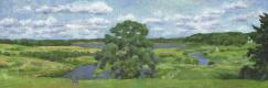 Андрей Иванович Борисов. Облака над Соротью