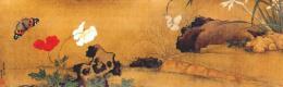 Куи Фан. Поздние цветы и бабочки