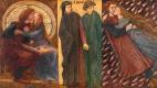 Данте Габриэль Россетти. Паоло и Франческа да Римини. Триптих