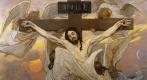 Виктор Михайлович Васнецов. Распятый Иисус Христос. Эскиз росписи Владимирского собора в Киеве