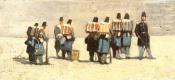 Джованни Фаттори. Французские солдаты