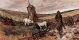 Джованни Фаттори. Пастухи на лошадях, пасущие коров