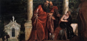 Паоло Веронезе. Сусанна и старцы. Паоло Веронезе, 1585 – 1588