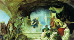 Генрих Ипполитович Семирадский. Орфей в подземном царстве.(Эскиз)
