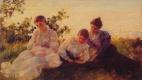 Чарльз Кортни Каран. Три женщины