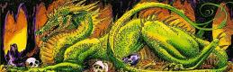 Эллиса Митчел. Зеленый динозавр