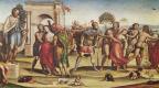 Sodom. The rape of the Sabine women
