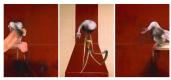 Фрэнсис Бэкон. Три этюда к фигурам у подножия распятия (вторая версия)