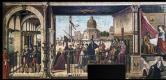 Витторе Карпаччо. Житие святой Урсулы. Прибытие английских послов к королю Бретани
