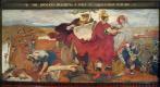 Форд Мэдокс Браун. Римляне строят форт в Маньенионе. Фреска мурала здания Манчестерской ратуши