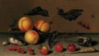 Балтазар ван дер Аст. Абрикосы, ягоды, раковины и насекомые