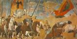 Пьеро делла Франческа. Битва Константина и Максенцием