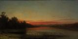 Мартин Джонсон Хед. Закат на озере Шамплейн