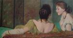 Федерико Дзандоменеги. На диване