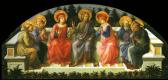 Филиппино Липпи. Семь святых