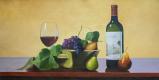 Савелий Камский. Фрукты и калифорнийское вино Chateau Montelena