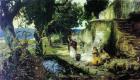 Генрих Ипполитович Семирадский. The scene at the well (sketch)
