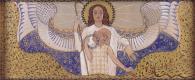 Коломан Мозер. Церковь АМ-Штайнхоф, дизайн для правой стороны алтаря Ангел-Хранитель