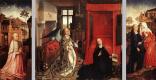 Рогир ван дер Вейден. Триптих Благовещенье
