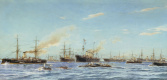 Alexander Karlovich Beggrov. Ships built in the years 1883-1896 at the Baltic shipbuilding and Mechanical plant in St. Petersburg, a naval architect N.E.Titov. 1896