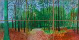 Дэвид Хокни. Леса в Восточном Йоркшире 24, 25 и 26 октября 2006 года