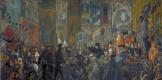 Илья Сергеевич Глазунов. Разгром Храма в Пасхальную ночь. 1999