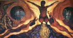 Diego Maria Rivera. Three Nude women