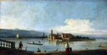 Giovanni Antonio Canal (Canaletto). View of the Isles of San Michele