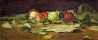 Валентин Александрович Серов. Яблоки и листья