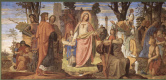 Филипп Вайт. Настенная роспись из старого Штеделевского института, средняя часть: Религия насаждает искусства в Германии
