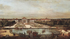 Giovanni Antonio Canal (Canaletto). The Western view of the Nymphenburg Palace in Munich