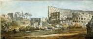 Шарль-Луи Клериссо. Вид Колизея в Риме