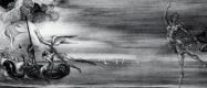 Salvador Dali. The scene with marine allegory