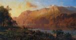 Томас Хилл. Изумрудное озеро