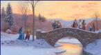 Рут Сандерсон. Мост зимой