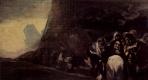 Франсиско Гойя. Серия мрачных картин: Паломники