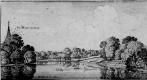 Венцель Холлар. Окрестности Олбери в Суррее