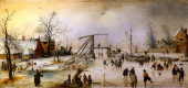 Хендрик Аверкамп. Зимняя сцена