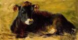 Матильда Браун. Лежащая корова