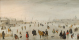 Хендрик Аверкамп. Сцена на льду