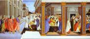 Сандро Боттичелли. Крещение святого Зиновия