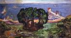Эдвард Мунк. Деревья на берегу