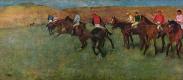 Edgar Degas. Before the race