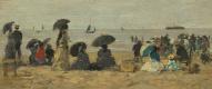Эжен Буден. Пляж